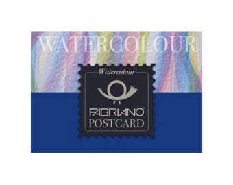 Fabriano Watercolour Postcard Pad - Cold Pressed 140lb