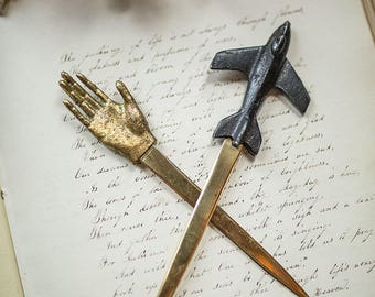 Airplane Letter Opener - Pewter