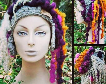 Freeform Forest Winter Hat, created with love & magic