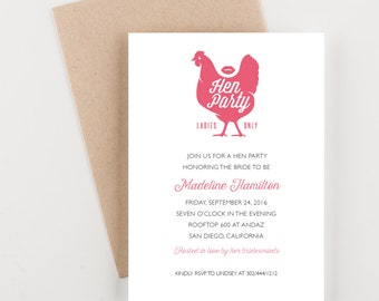 ca298942cfe Love And Cocktails Bachelorette Invitation Bridal Shower or