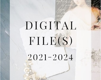 Digital Design Files - Single and Multiple