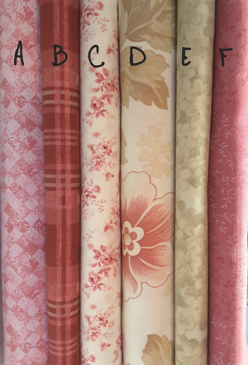 Superb Mix N Match Pretty Pink Colors With A Shabby Chic Look Fat Quarters Home Interior And Landscaping Ologienasavecom