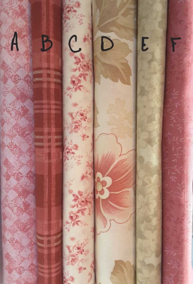 Phenomenal Mix N Match Pretty Pink Colors With A Shabby Chic Look Fat Quarters Home Interior And Landscaping Synyenasavecom