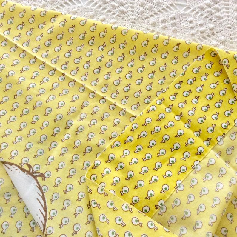 Yellow Print 2 Joan Walsh Anglund Pillowcases Friends Pattern