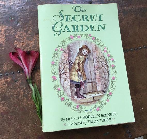 The Secret Garden by Frances Hodgson Burnett Tasha Tudor Art | Etsy