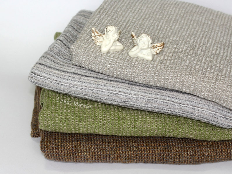 100 Linen Bath Towel Soft Pure Flax Boho Bathroom Towel Etsy