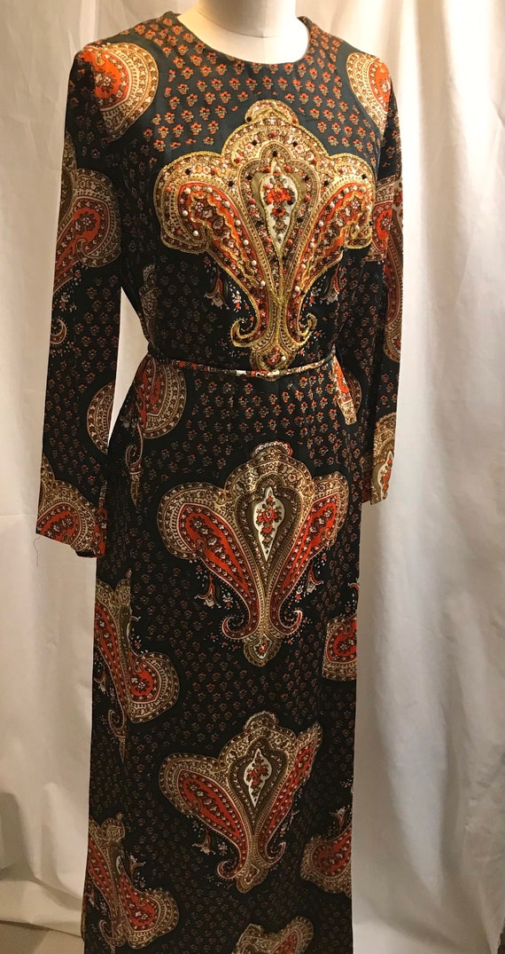 Vintage Beaded 1960's or 1970's Blakely Fashions G