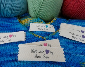 Personalized Heart Labels-New Design!