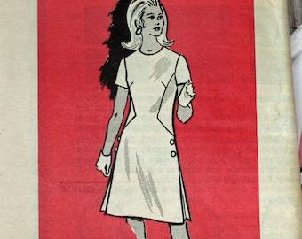 UNCUT, Vintage 1970s, Sewing Pattern, Dress,  Anne Adams 4794, Mail order pattern 4794, Printed Pattern, Misses' Size 10, OLD2NEWMEMORIES
