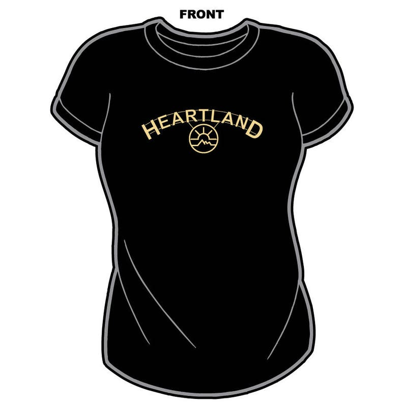 c05ea17f86428 HEARTLAND RANCH t-shirt Amber Marshall Graham Wardle