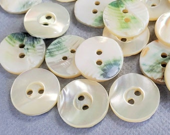 #659 reversible buttons Handcrafted ceramic buttons crafts buttons jewelry buttons red textured blue knitting handmade clothing