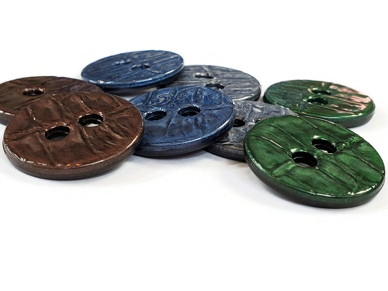 1 18 inch Faux Alligator Vintage Coat Buttons Knitting Sweaters Color Choices Coats for Sewing