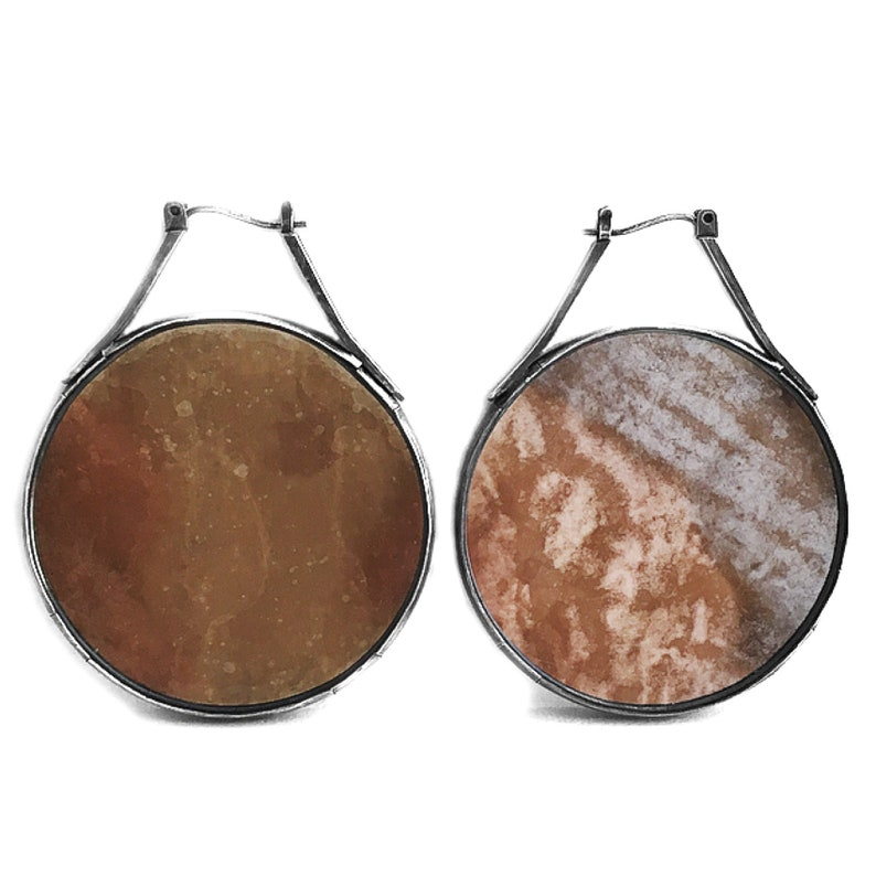 Mica Earrings multiple size options image 0