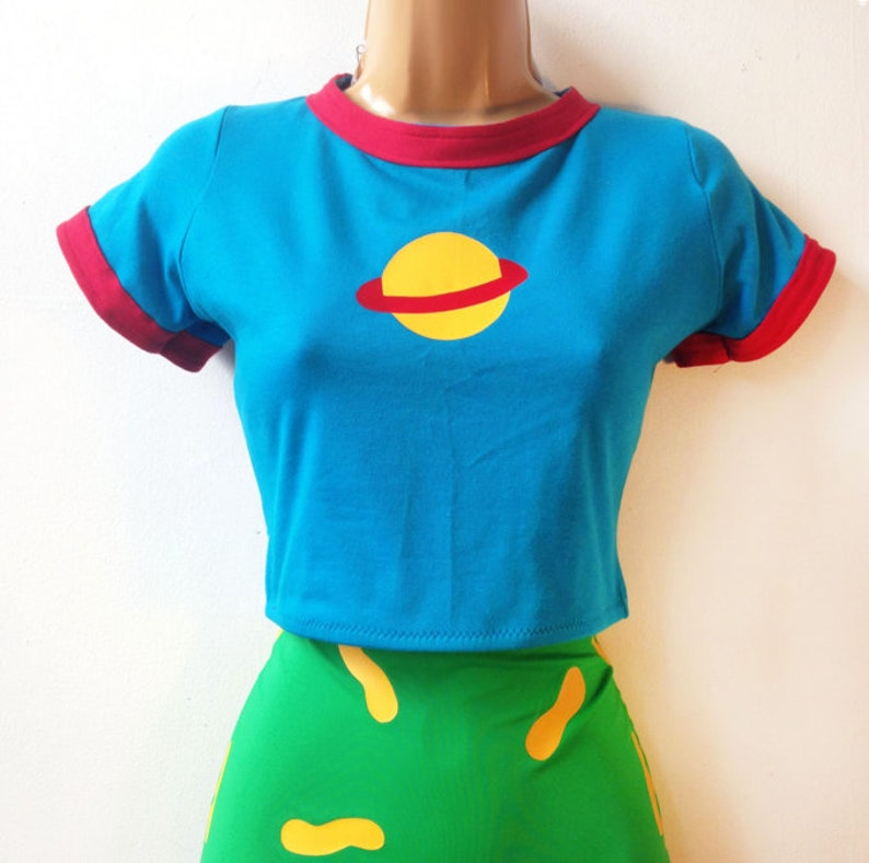 015bc2c911e86 Chuckie Finster Rugrats Crop Top    Top Only Chuckie Finster