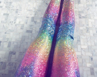 rainbow leggings, pastel leggings, yoga pants women, womens yoga leggings, womens yoga pants, sparkly leggings, unicorn leggings