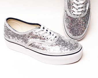 Small Sequin VANS Authentic Sneakers