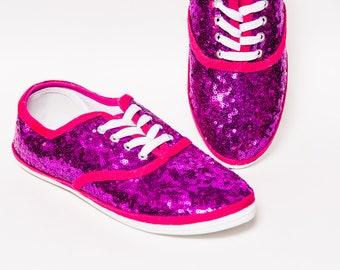 0ecb0eab69f02 Sequin tennis shoes | Etsy