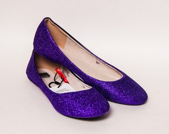 f85646408656 Ready 2 Ship - Size 11 Purple Passion Ballet Flats Slippers Shoes