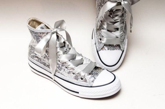 Bridal Favorite Silver Starlight Sequin