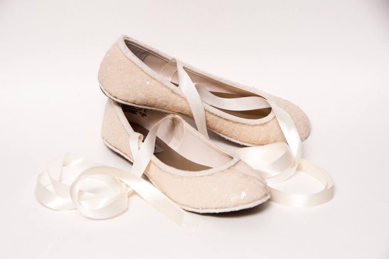 glitter ballerina's