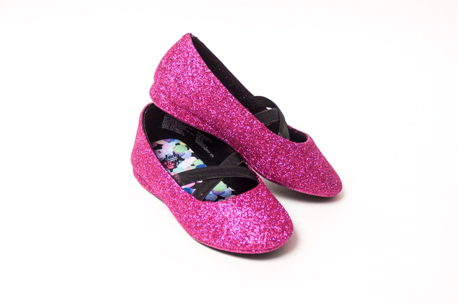 cyo toddler glitter ballet flats