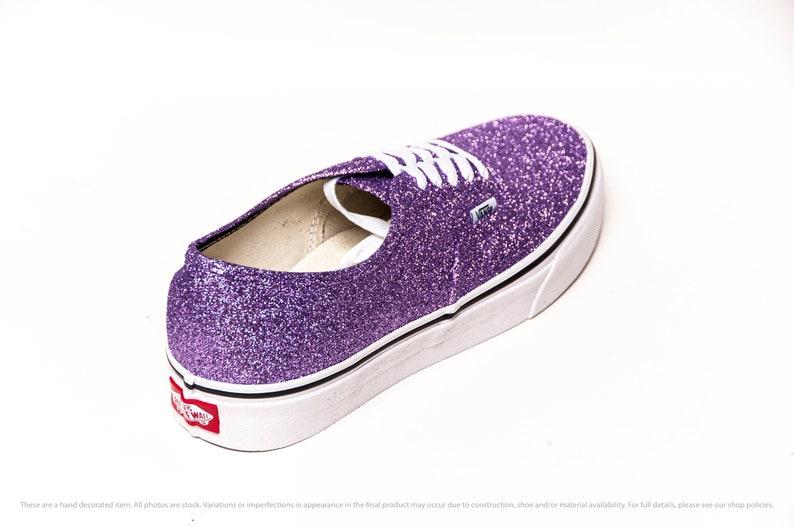 LavanPurple Purple Glitter Vans Authentics Sneakers YqICz41d
