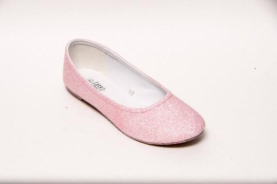 Kaugummi Rosa Glitter Ballerinas