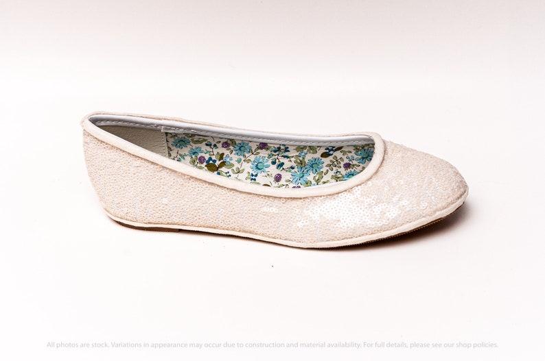 Starlight Sequin Ivory White Ballet