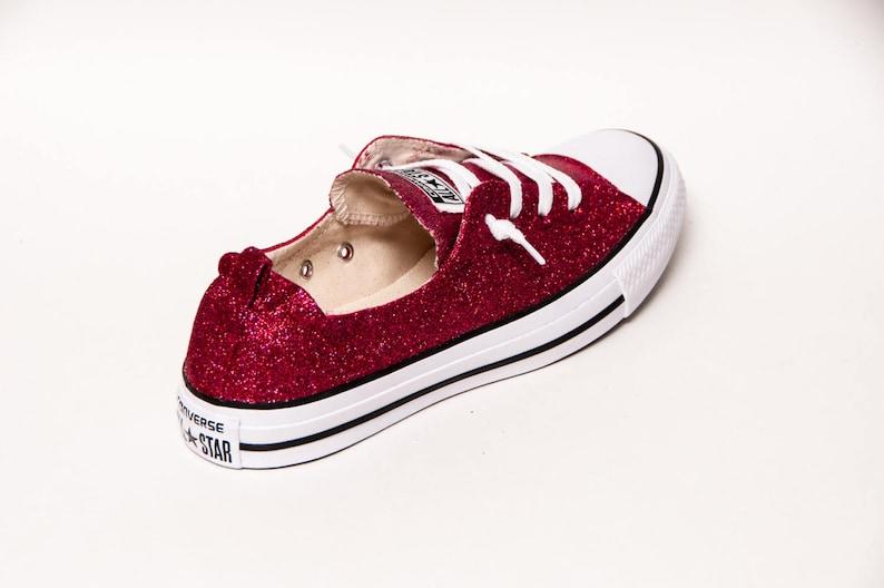 Raspberry Pink Glitter Shoreline Converse® Shoes  7c0a1085b