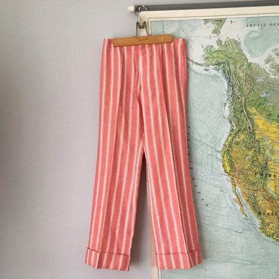 Vintage Low Rise 60s Pants