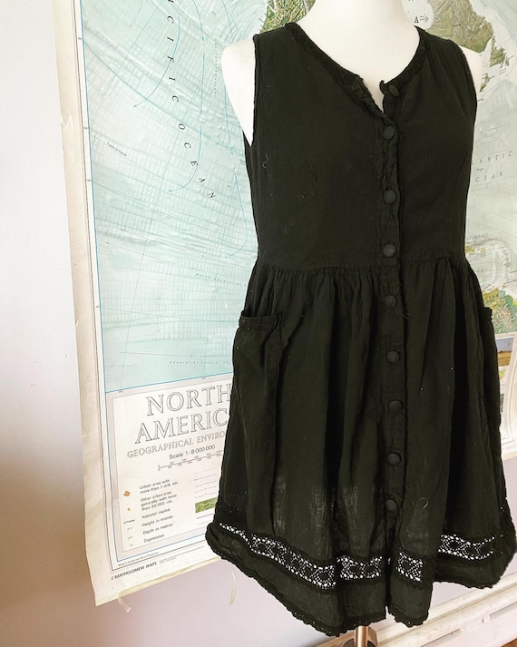 Sweetest 90s cotton Baby Doll Dress