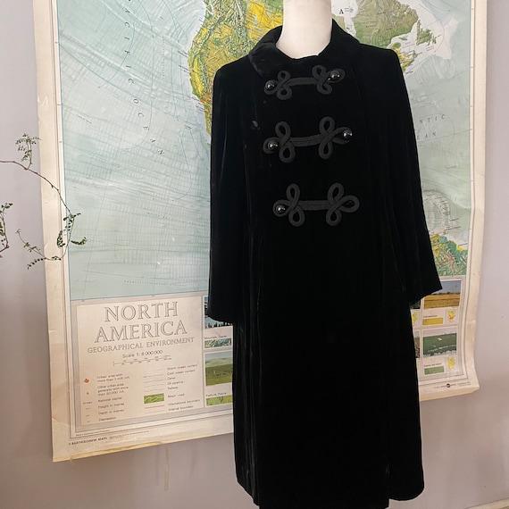 Black Velvet 60s Jacket
