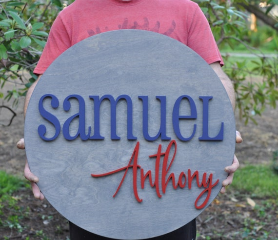 "24"" Diameter Child's Room Sign"