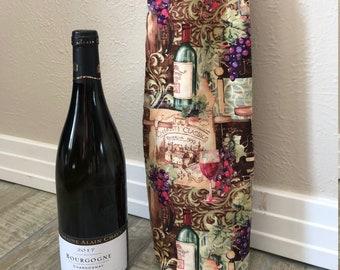 Wine Bottle Bag, wine bottle gift bag, wine holder