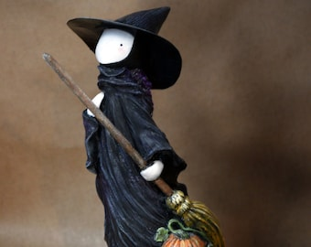 The Witch and The Wind - Numbered Limited Edition Sculpture by Lisa Snellings