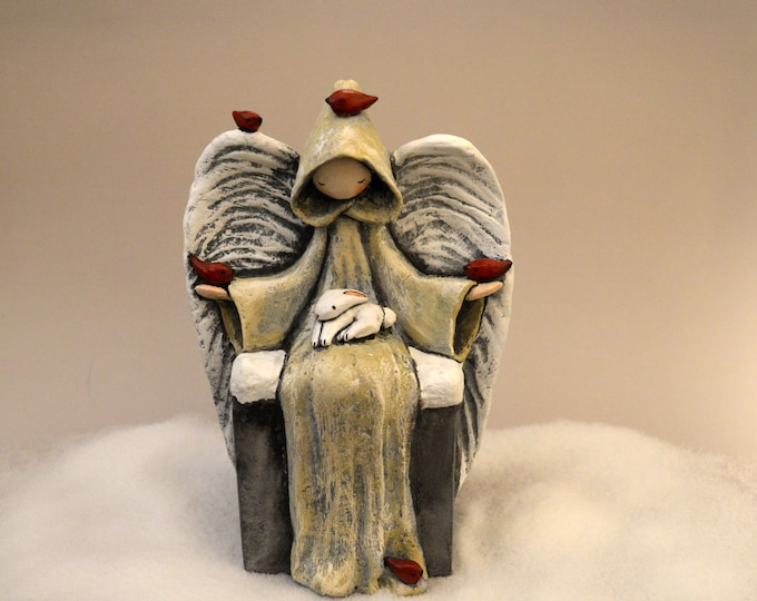 Winter Reverence - Limited Edition Sculpture by Lisa Snellings