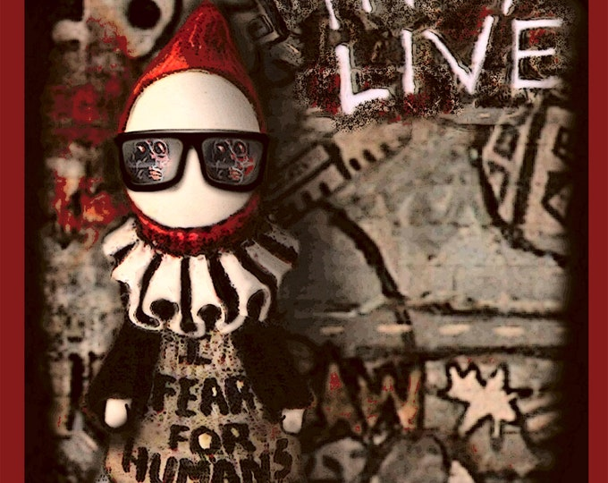 Poppet in They Live  - Digital Download  - Lisa Snellings