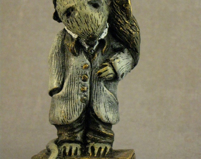 Lisa Snellings Edgar Allan Poe Rat Limited Edition  Number 329/500