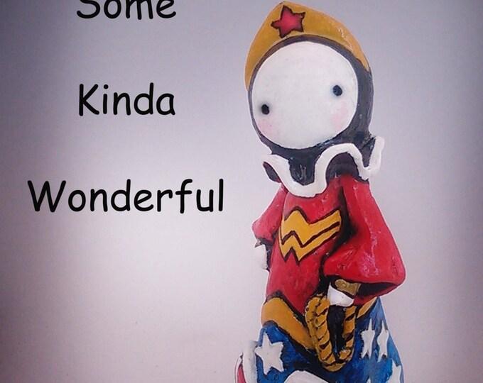 Wonder Woman Poppet - Lisa Snellings