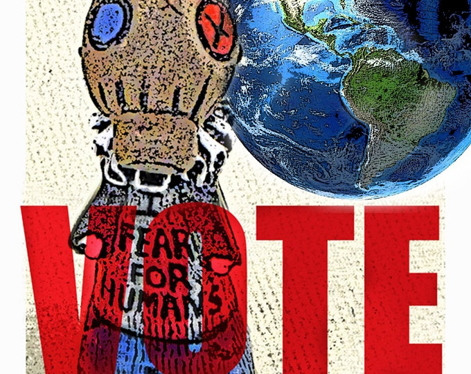 VOTE, Silly Humans!  Poster