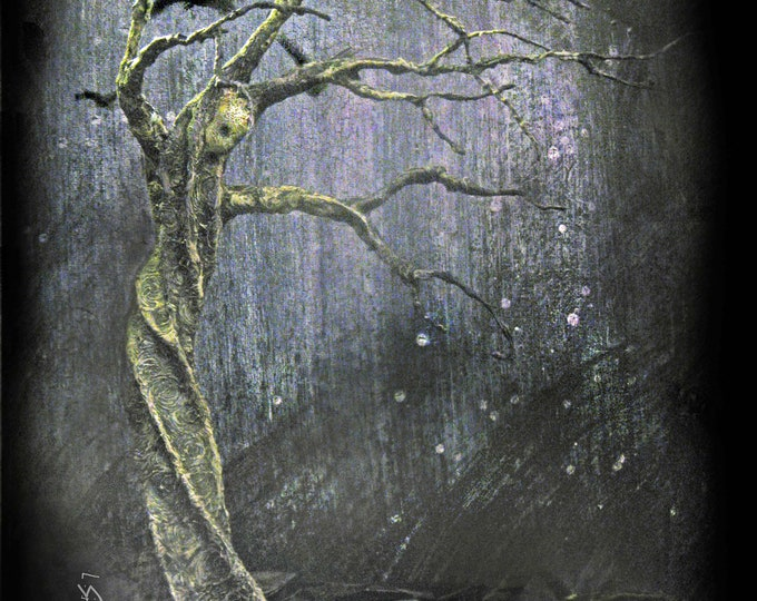 Tree of Lasting Sorrow - Limited Edition Print  -Lisa Snellings