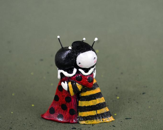 Lady Bug and Bestie Bee Hugs