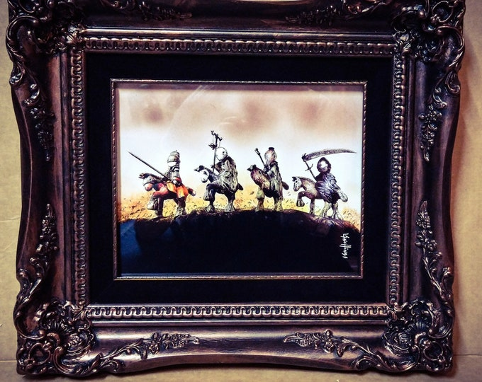 Poppet Apocalyptic in museum quality frame