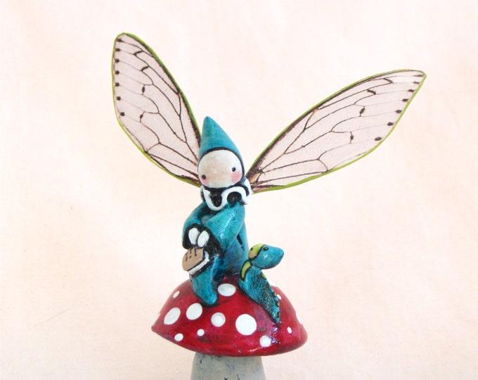 Mushroom Fairy Poppet - Hope
