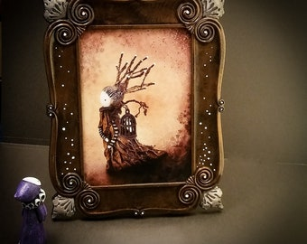 Keeper of Songs - Framed Limited Edition Giclee - Lisa Snellings