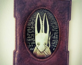 Regret is a Rabbit - Framed Limited Edition Print #18/250