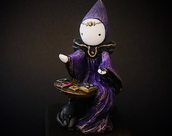 The Tarot Reader - A Limited Edition Poppet Tarot Sculpture   #22/100