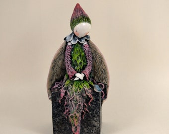 Spring Reverence - Limited Edition Sculpture by Lisa Snellings