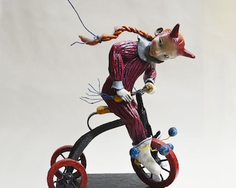 Hookin' Beans - Original Sculpture - Lisa Snellings