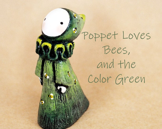 Poppet Loves Bees, and the Color Green